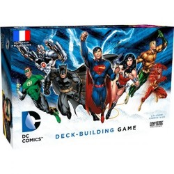 DC Comics - jeu de Deck Building
