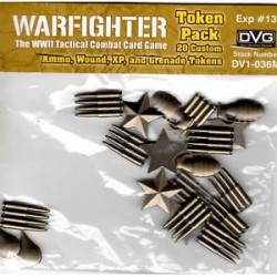 Warfighter WWII - exp13 - Metal Tokens