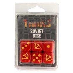 TANKS • Set de dés - Dés Soviétiques (6)