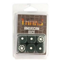 TANKS • Set de dés - Dés américains (6)