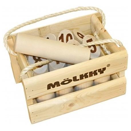 Molkky Luxe (Casier en bois)