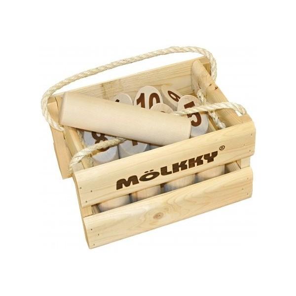 Molkky Luxe (Casier en bois), Tactic