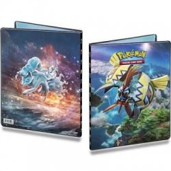 Cahier Range Cartes Pokémon A4 - Tokorico & Feunard D'alola