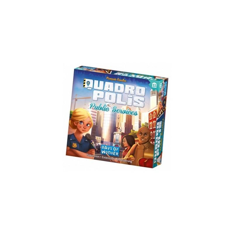 Buy Quadropolis Public Services - Agorajeux Gamestore
