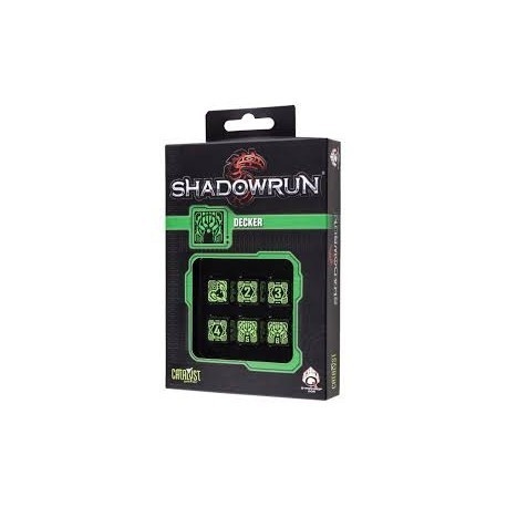 set de dés Shadowrun : Decker