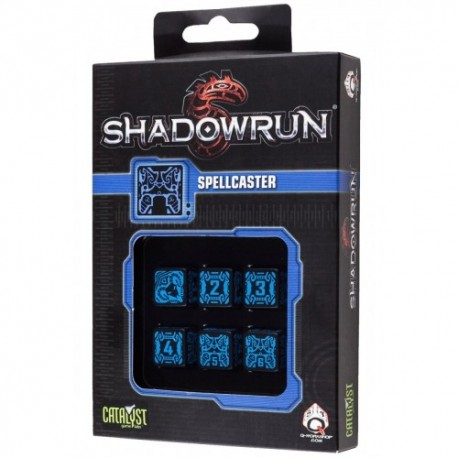 set de dés Shadowrun : Spellcaster