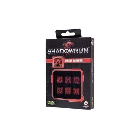set de dés Shadowrun : Street Samurai