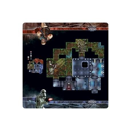 Star Wars Imperial Assault : Skirmish Map : Training Ground