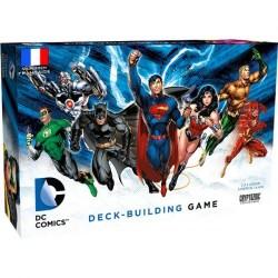 DC Comics - jeu de Deck Building - boite endommagée