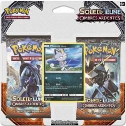 Pokémon - Pack 2 Boosters SL3 Soleil & Lune : Miaouss d'Alola
