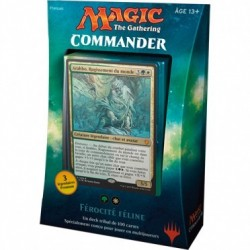 Magic the Gathering - Deck Commander 2017 : Férocité Féline