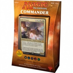 Magic the Gathering - Deck Commander 2017 : Domination Draconique