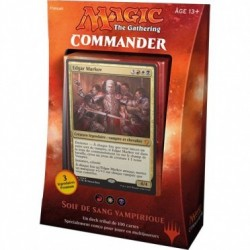Magic the Gathering - Deck Commander 2017 : Soif de Sang Vampirique