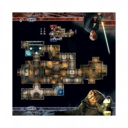 Star Wars Imperial Assault : Skirmish Map : Jabba's Palace