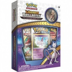 Coffret Pokémon Pin's Collection - SL 3.5 Légendes Brillantes : Mewtwo