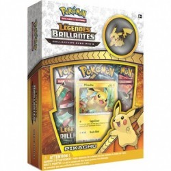 Coffret Pokémon Pin's Collection - SL 3.5 Légendes Brillantes : Pikachu