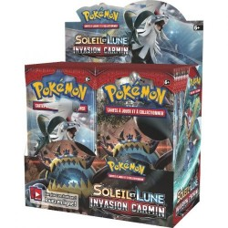 Pokémon Display 36 boosters SL4 Invasion Carmin