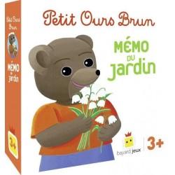 Petit Ours Brun - Mémo du Jardin