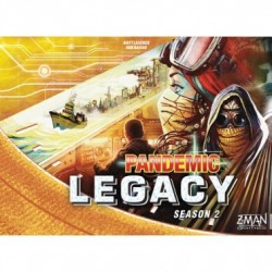 Pandemic Legacy saison 2 - yellow box - French edition