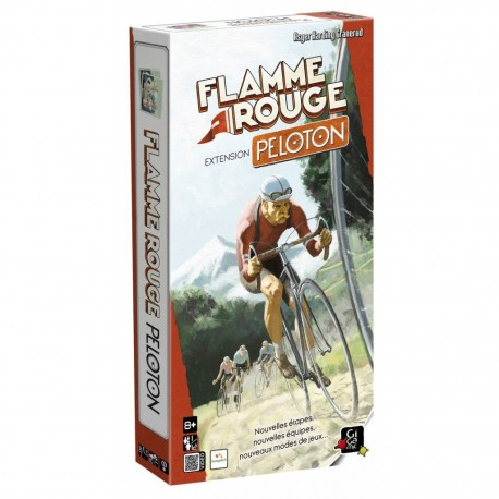 Flamme Rouge - extension Peloton