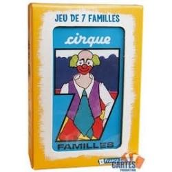 Jeu de 7 familles : le cirque