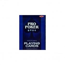 Jeu de 52 cartes plastique Pro Poker