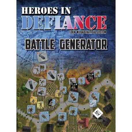 Heroes in Defiance Battle Generator