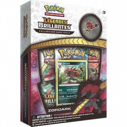 Coffret Pokémon Pin's Collection - SL 3.5 Légendes Brillantes : Zoroark pas cher