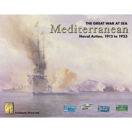The Great War at Sea : Mediterranean