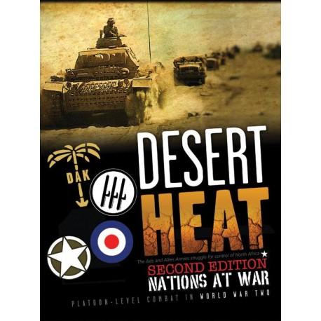 Nations at War: Desert Heat - 2nd edition