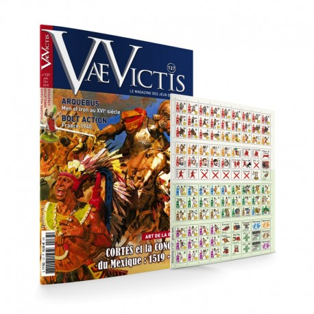 Vae Victis n°137 Game issue : Cortes et la conquete du Mexique