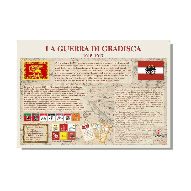 send a letter buy the war of gradisca 1615 1617 agorajeux gamestore 1617