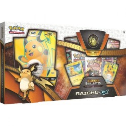 Coffret SL3.5 Raichu GX Legendes Brillantes