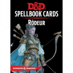 D&D 5 - Spellbook cards : Rôdeur