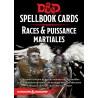 D&D 5 - Spellbook cards : Races et Puissance Martiale