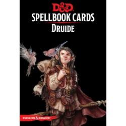 D&D 5 - Spellbook cards : Druide