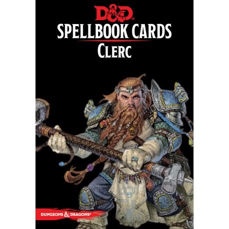 D&D 5 - Spellbook cards : Clerc