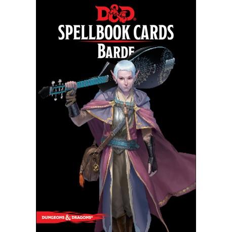 D&D 5 - Spellbook cards : Barde