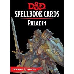 D&D 5 - Spellbook cards : Paladin