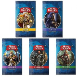Hero Realms : lot de 5 decks