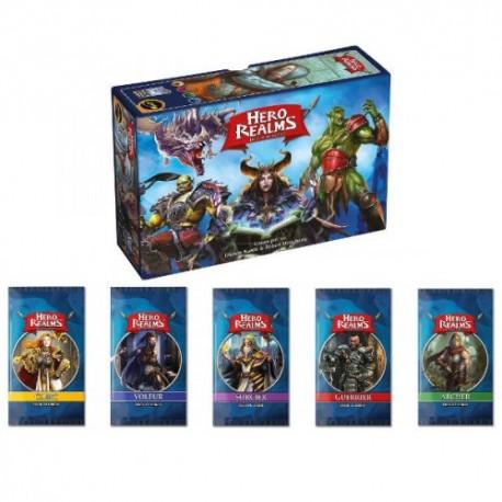 Hero Realms : lot jeu de base + 5 extensions