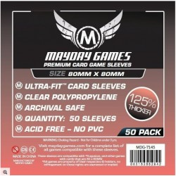Card Game Sleeves - 80x80mm premium (x50)