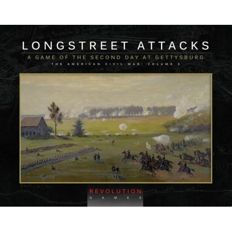 Longstreet Attacks - édition ziplock