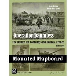 Operation Dauntless / Red Winter - Mounted Mapboard