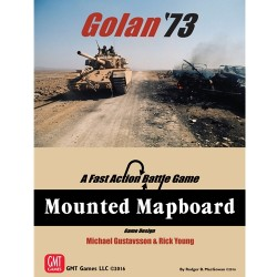 Golan '73 - Mounted mapboard