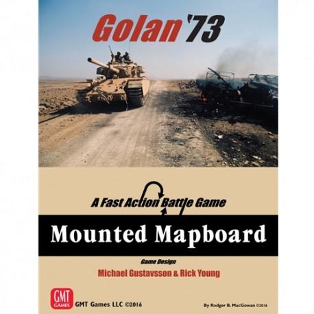 Golan '73 - Mounted mapboard