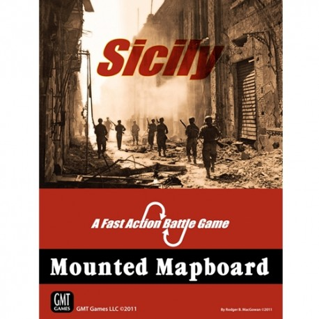 FAB Sicily - Mounted mapboard