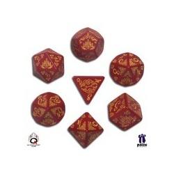 set de dés Pathfinder : Curse of the Crimson Throne