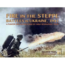 Panzer Grenadier : Fire in the Steppe