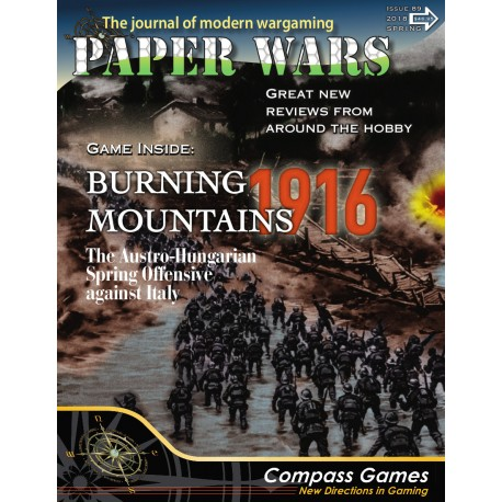 Paper Wars 89 - Burning Mountains